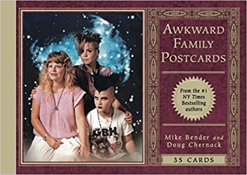 awkward family postcards 35 cards