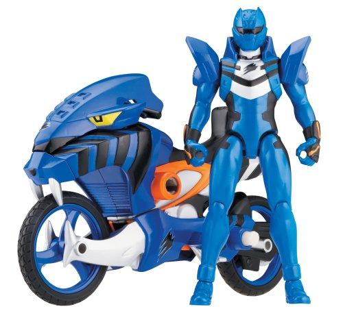 Power Rangers Jungle Fury- Blue Jaguar Strike Rider]()
