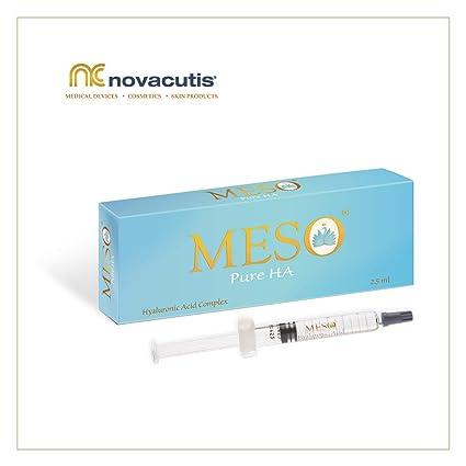 MESO Pure HA ácido hialurónico no reticulado (15 mg/ml) para tratamientos de microneedling y mesoterapia. Un complejo de ácidos hialurónicos de ...