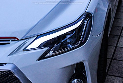 GOWE Car Styling for Toyota Reiz led headlights 2013-2016 new Mark X LED Head Lamp signal drl H7 hid Bi-Xenon Lens low beam Color Temperature:6000K;Wattage:55K 2
