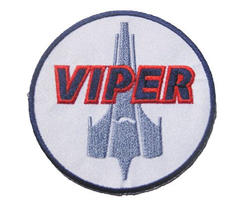 [Battlestar Galactica BSG Colonial Viper Pilot Uniform Sew Ironed Patch Badge Embroidery 3.5