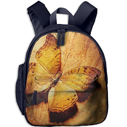 Bear Carrying On Shoulders Costume (Butterfly6 Comfy School Bags,Custom Cute Children Shoulder Daypack,Print Backpack For Kids)