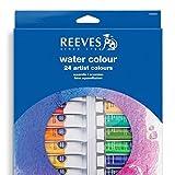 Reeves 24-Pack Water Color Paint Set, 10ml (8494252)