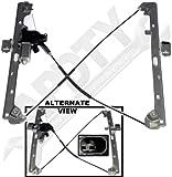 APDTY 852755 Power Window Cable Regulator & Motor Assembl...