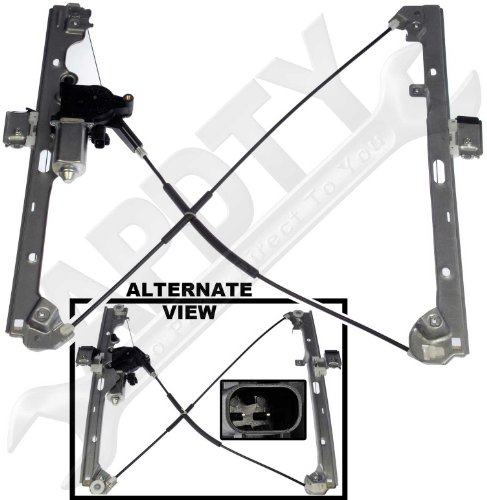 Apdty 852755 power window cable regulator motor assembly for 2002 chevy tahoe window regulator