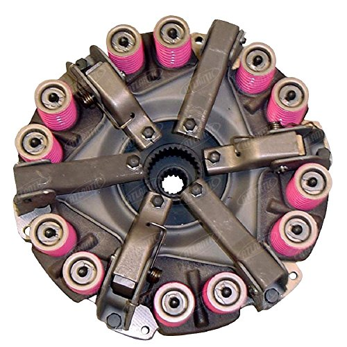 1112-6066 Ford New Holland Parts Clutch Plate Double 2000 4 CYL 62-64; 2300; 3000; 3055; 3100; 3110; 3120; 3190; 3300; 3310; 3330; 4000; 4000 4 CYL 62-64; 4100; 4140; 600; 660 ROUND BALER; 661; 700; 7 - 4 Cyl New Clutch