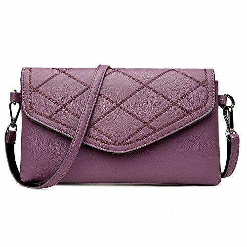Umhängetasche Handtasche Paket Einfache Art und Weise Umhängetasche Mehrzweck-Paket , Weinrot