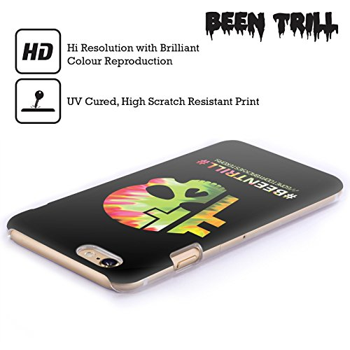 Official Been Trill Hashtag Skull Colourful Prints Hard Back Case for Apple iPhone 4 / 4S