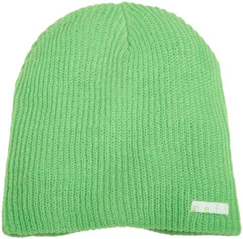 Neff Unisex Daily Beanie, Warm, Slouchy, Soft Headwear, Slime, One Size