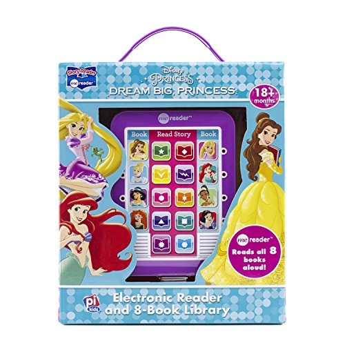 Disney Princess - Dream Big Princess Electronic Me Reader and 8 Sound Book Library - PI Kids