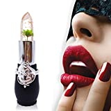 Eletty Jelly Crystal Flower Lipstick High Pigment Magic Colors Lipstick 6Pcs Sets for Women Girls