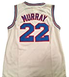 Bill Murray Space Jam Jersey – #22 Tune Squad – White (XX-Large) Review