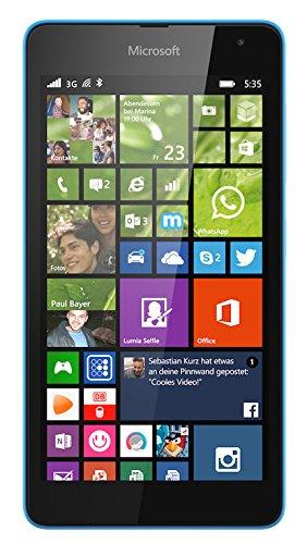 bolsa del cinturón / funda para Microsoft Lumia 535, negro + Auriculares | caja del teléfono cubierta protectora bolso - K-S-Trade (TM)