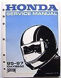 Honda Service Manual, 85-87 CMX250C Rebel