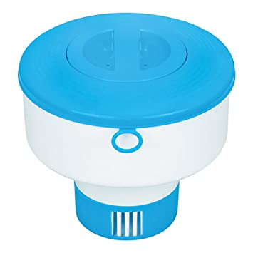Intex 29041NP - Dispensador químico piscinas diámetro 17, 8 cm: Amazon.es: Jardín