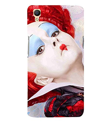 For Oppo A37 girl with stage makeup, girl with red hair: Amazon in