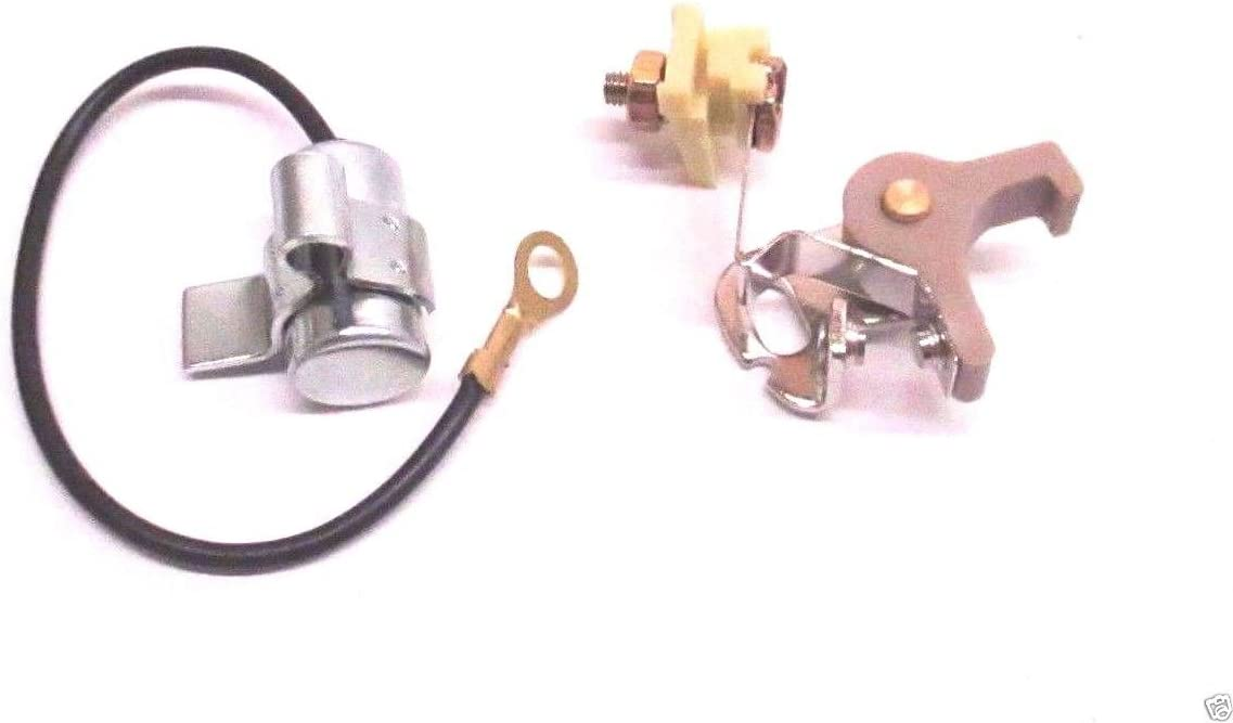 New IGNITION COIL MODULE w// Ignition Set POINTS /& CONDENSER For Tecumseh