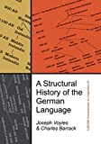 img - for A Structural History of the German Language book / textbook / text book