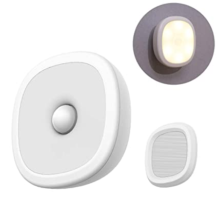 Amazon.com: Luz con sensor de movimiento, LED recargable por ...