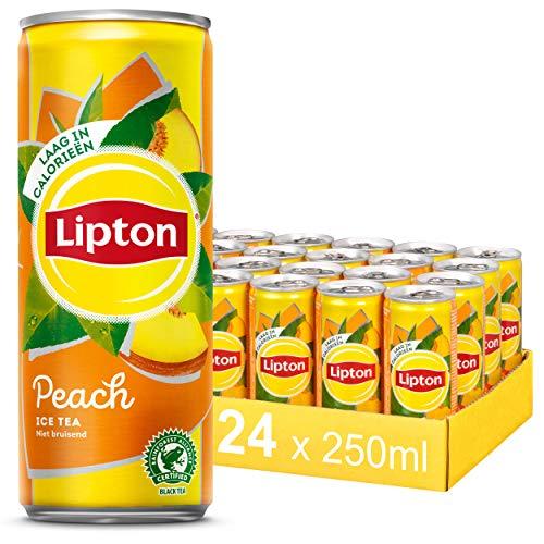 Lipton Ice Tea Peach – 24 blikjes – 250ML