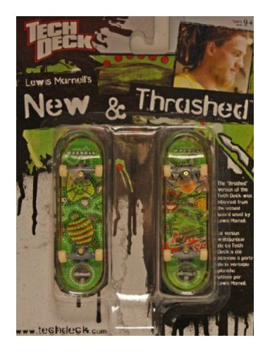 Tech Deck - New & Thrashed - Two Finger Skateboards - Lewis Marnell