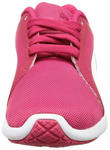 Basses Puma St Baskets Gar on Evo Rouge Red rose Trainer white 1ZIBqnZdcw