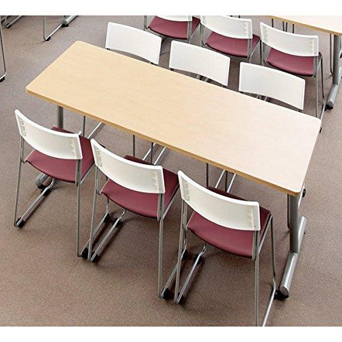 ミーティングテーブル MTS 角形幅1800×奥行き900mm カラー:オーク B00AFJCPJ0オーク