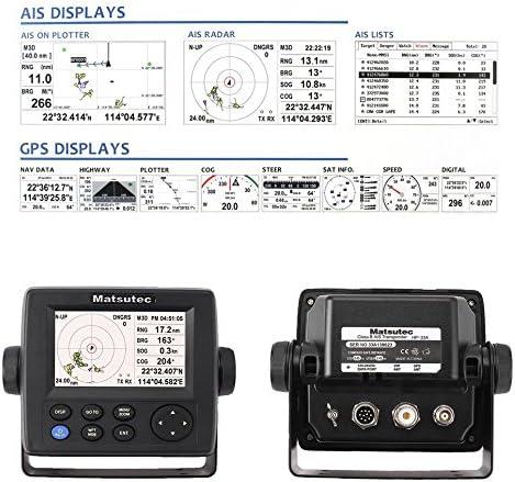 sunnydayde alta sensibilidad HP std-33 a 4,3 pulgadas AIS transpondedor Combo Marino GPS Navigator: Amazon.es: Coche y moto