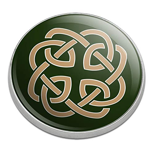 GRAPHICS & MORE Celtic Knot Love Eternity Golfing Premium Metal Golf Ball - Metal Celtic Knot