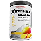 Scivation Xtend BCAA Powder, Branched Chain Amino Acids, BCAAs, Mango, 30 Servings