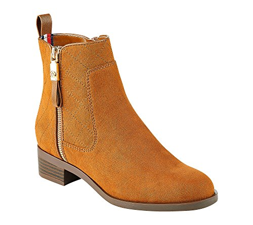 Tommy Hilfiger Women's Boot Ankle Saddle Patron rq7BAw4qnY