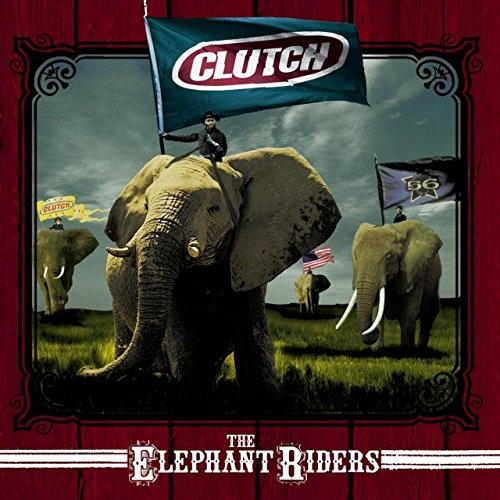 Clutch Detail - Elephant Riders