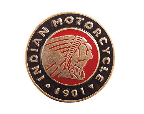 Indian Motorcycle Mens Circle Headdress Belt Buckle