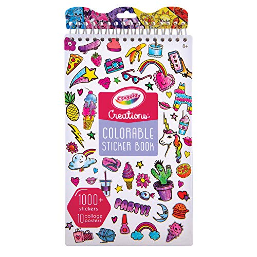 (Fashion Angels Crayola Creations DIY Color Your Own Stickers Book)