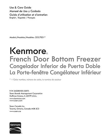 amazon com frigidaire 242285100 refrigerator owner s manual genuine rh amazon com Estate Brand Refrigerators Estate Whirlpool Refrigerators Model