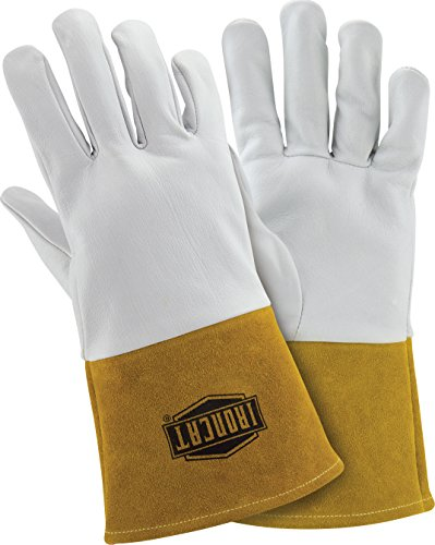 West Chester IRONCAT 6141 Premium Top Grain Kidskin Leather TIG Welding Gloves: Large, 1 Pair
