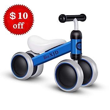 Amazon.com: Bicicleta de equilibrio para bebés y niños con 4 ...