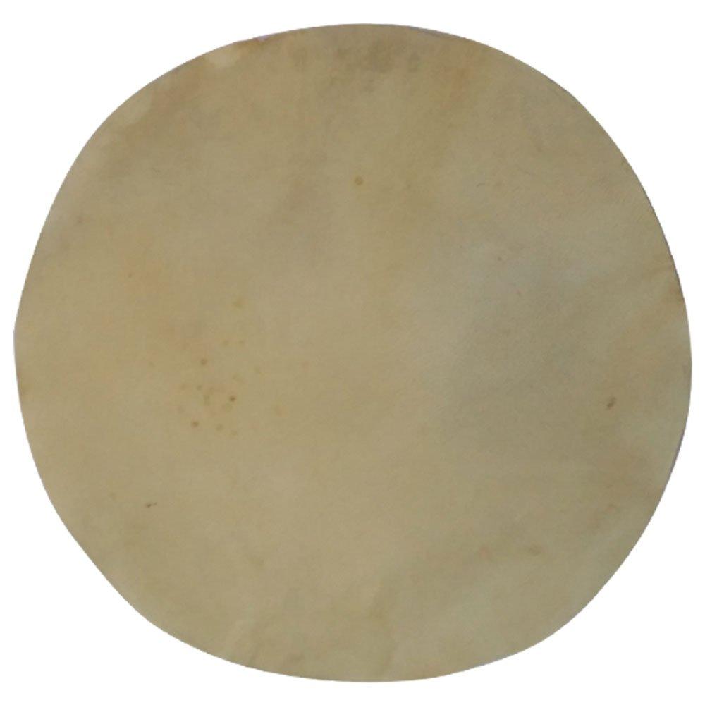 Banjo Drum Head Calf Skins Snare Drums Skins Irish Bodhran Djembe Goat Skins Native Frame (32'')