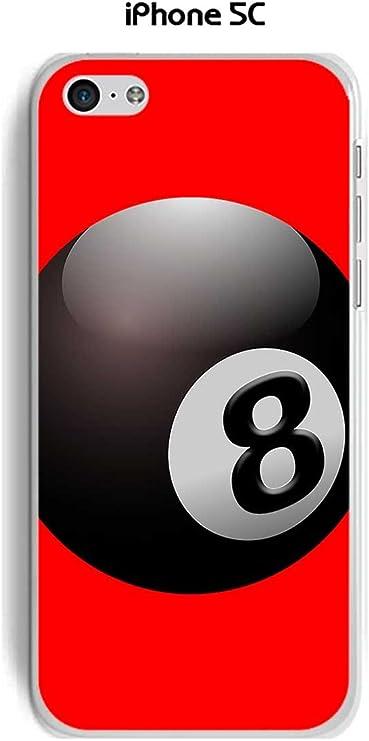 Onozo Carcasa Apple iPhone 5 C Design Bola de Billar N ° 8 Puerta ...