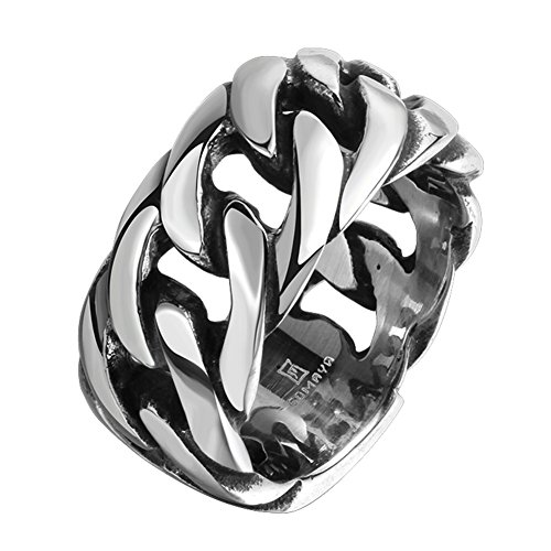 stainless steel rings gothic - 5