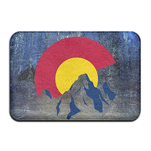 Deluxe Tarzan Adult Costumes (Big Colorado Flag Mountains Entrance Mat)