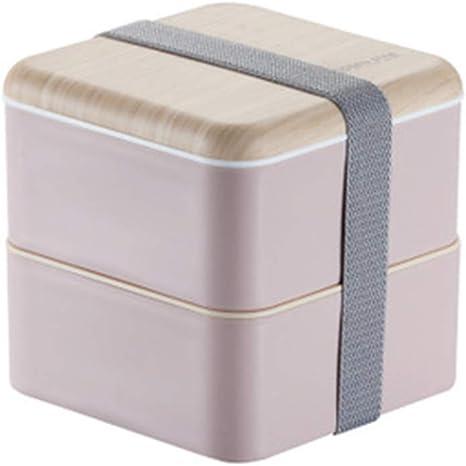 YUQQZ Fambrera Infantil, Lunch Box, Fiambrera con Lonchera Doble ...