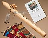 Native American Flute -Natural Buffalo & Bag
