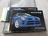 2004 Dodge SRT4 SRT 4 SRT-4 Owners Manual