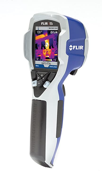 FLIR i5: Compact Thermal Imaging Camera with 100 x 100 IR Resolution