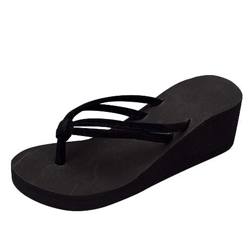 Tongs Femmes Femme Sandales Chaussures Compensées Levifun Été kN8OnP0wX