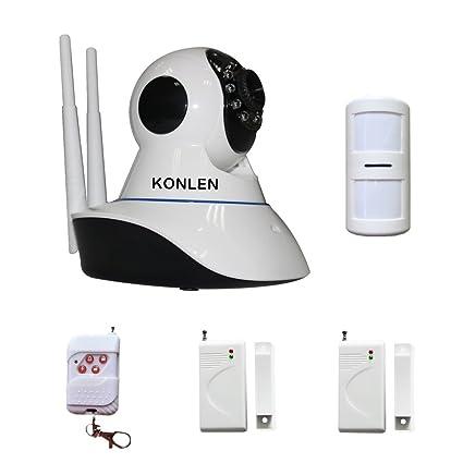 KONLEN 960P 1.3 Mega 4mm 1/3 CMOS Wifi IP Camera HD Pan