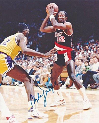 Portland Trail Blazers Roster 1992: Clyde Drexler Trail Blazers Autograph, Trail Blazers Clyde