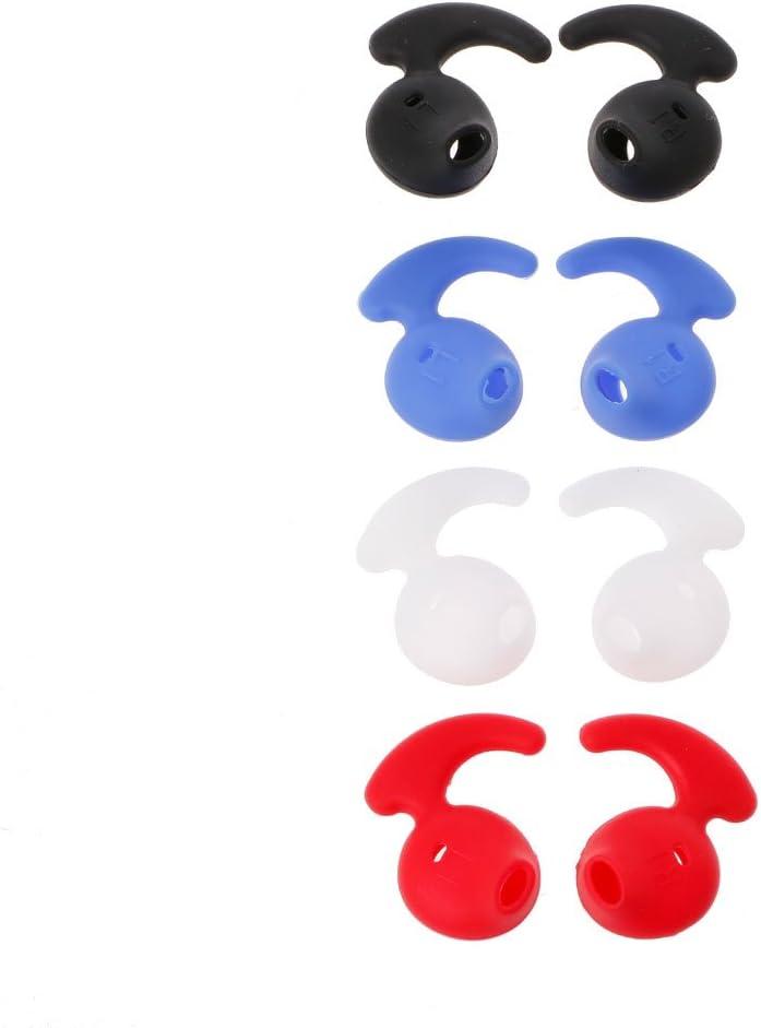 Baodanjiayou 4 pares de auriculares de silicona compatibles con auriculares Bluetooth Level U EO-BG920