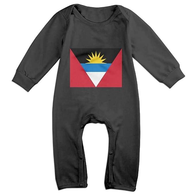 Amazon.com: Uno, traje bandera de Antigua y Barbuda manga ...